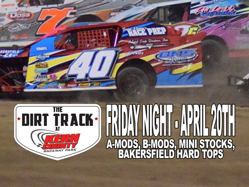 FIRST DOUBLE HEADER RACE WEEKEND OF THE YEAR AT KERN COUNTY